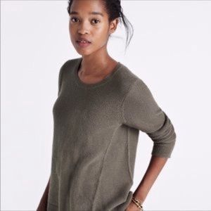 Madewell | Green Knit Riverside Sweater